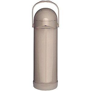 Garrafa Térmica Mor Pressão Nobile Bege 1L