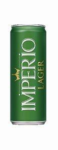 Cerveja Império Puro Malte Lager Lata 269ml