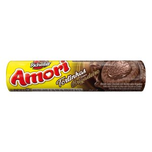 Biscoito Richester Amori Tortinhas Brigadeiro 140g