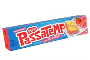 Biscoito Nestlé Passatempo Morango 130g
