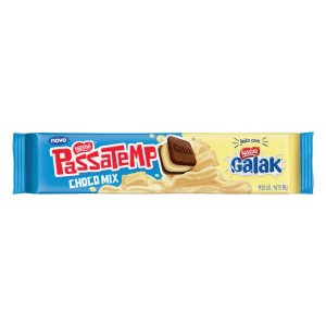 Biscoito Nestlé Passatempo Choco Mix Galak 96g