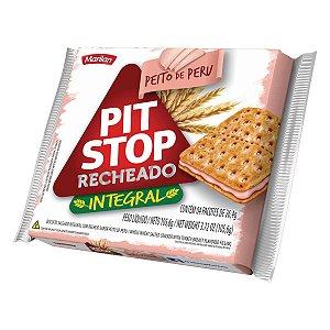 Biscoito Marilan Pit Stop Recheado Peito de Peru Integral 105,6g