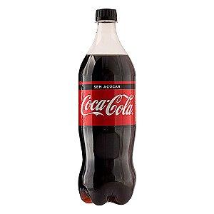 Refrigerante Coca-Cola Zero Açúcar 1L