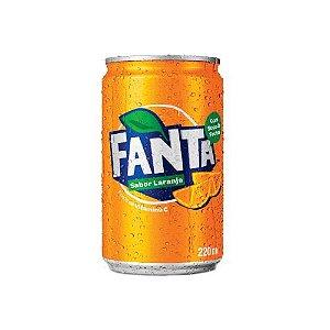 Refrigerante Fanta Laranja Lata 220ml