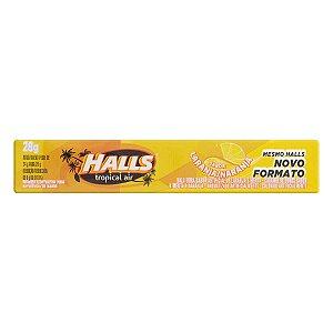 Bala Halls Laranja 28g