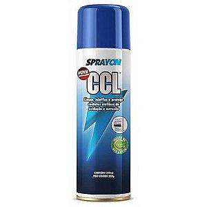 CCL Spray Aerosol Limpa Lubrifica e Protege Contatos Elétricos e Eletrônicos da Oxidação e Corrosão