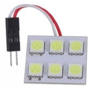 Lâmpada Led - 6 Leds Automotiva BM5050-6