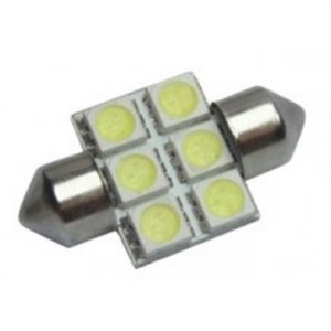 Lâmpada Led - 6 Leds Automotiva ba31-5050-6