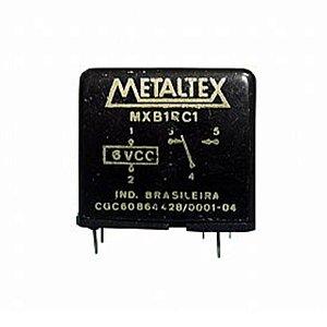 Rele Metaltex 1 Contatos MXB1RC1