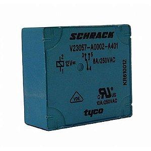 Rele Schrack 1 Contato Reversível V23057 A0002 A401