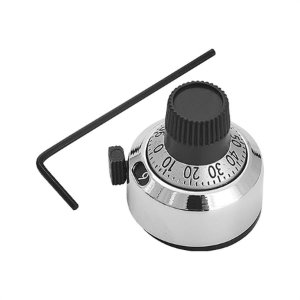 Dial 16 para Potenciometro Multi Voltas Modelo 16 Metalizado Diâmetro 22mm Código Compra RDR-14754