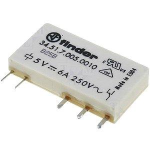 Mini Rele 1 contato reversível 3451.7.005.0010