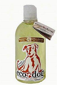 Shampoo Pelos Dourados ECO DOG 500ml com Óleo de Copaíba e Extrato de Camomila