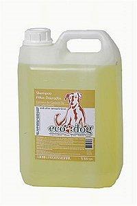 Shampoo Pelos Dourados ECO DOG 5L com Óleo de Copaíba e Extrato de Camomila