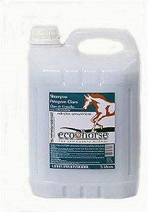 Shampoo Pelagem Clara ECO HORSE 5 L com Óleo de Copaíba e Andiroba