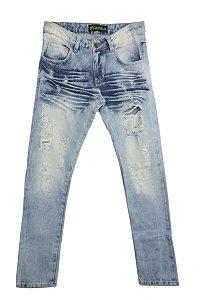 Calça Jeans Destroted Desfiada