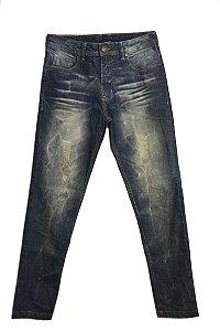 Calça Jeans Craquelado
