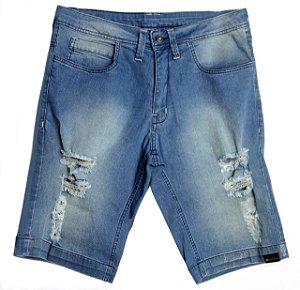 Bermuda Jeans Rasgados Clara