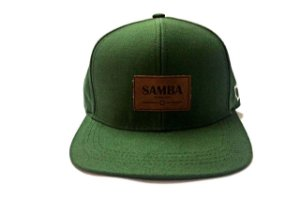 Boné Samba verde