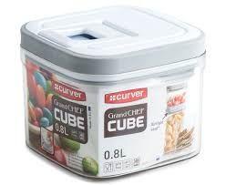 Pote Hermético Curver Grand Chef Cube 0.8 L