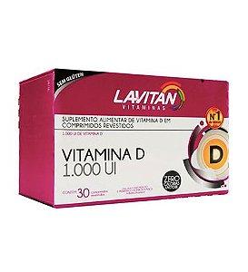 Lavitam Vitamina  D 1.000UI 30 Comprimidos