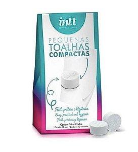 Kit 10 Toalhas Higienizadoras Compactas Intt