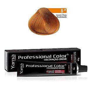 Coloração Yamá Creme Professional Color Nano Infusion 8.4 Louro Claro Acobreado