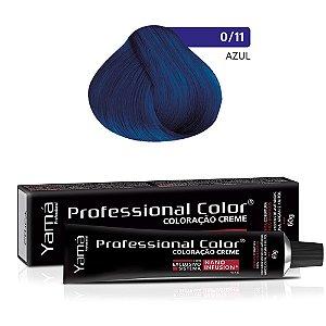Coloração Yamá Creme Professional Color Nano Infusion Mix Azul