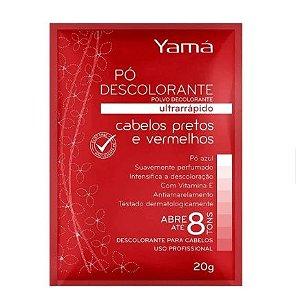 Yamá Pretos e Vermelhos Pó Descolorante 20g