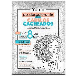 PÓ DESCOLORANTE YAMÁ PARA CABELOS CACHEADOS (50g)