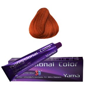Coloração Yamá Professional Color N. 7.4 Louro Médio Acobreado  60g