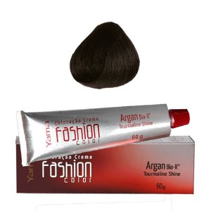 COLORAÇÃO YAMÁ FASHION COLOR ARGAN N. 1.0 PRETO (60g)
