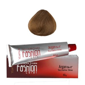 COLORAÇÃO YAMÁ FASHION COLOR ARGAN N. 8.0 LOURO CLARO (60g)