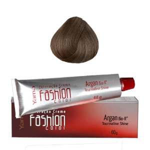 Coloração Yamá Fashion Color Argan N. 8.1 Louro Claro Acinzentado  60g