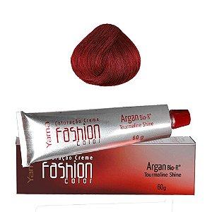 Coloração Yamá Fashion Color Argan N. 8.66 Louro Claro Vermelho Intenso  60g