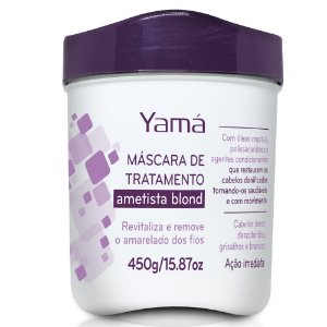 YAMÁ AMETISTA BLOND MÁSCARA HIDRATANTE (450g)