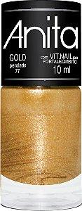 Esmalte Perolado Gold 10ml - Anita
