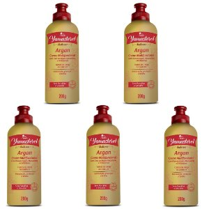 Creme Multifuncional Yamasterol Argan  200g (Kit C/05) - Perfumaria em Casa