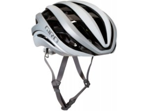 Capacete Ciclismo Giro Aether MIPS Spherical 2021 - Matte White / Silver