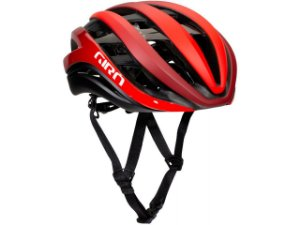 Capacete Ciclismo Giro Aether MIPS Spherical 2021 - Matte Red / Red Fade