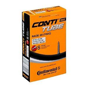 Câmara Speed Continental Conti Tube Race 28 (700c) S42 (bico 42mm)
