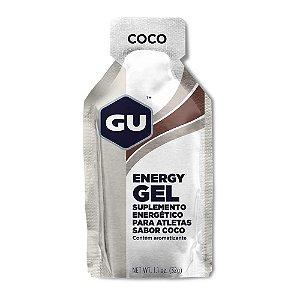 GU Energy Gel - Sabor Coco - Caixa c/ 24 Sachês