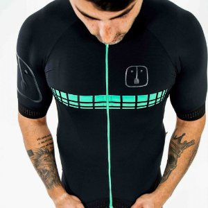 Camisa Ciclismo AHAU Racing Jade - Masculina