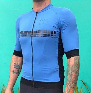 Camisa Ciclismo AHAU Racing EVO Blue - Masculina