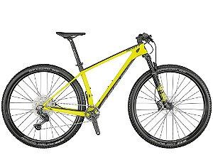 Bicicleta MTB Scott Scale 930 Carbon 2021 Yellow - Shimano Deore/XT 12v