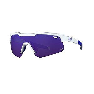 Óculos HB Shield Evo Mountain - Pearled White / Multi Purple