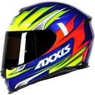 Capacete Axxis Eagle Speed Azul/amarelo.
