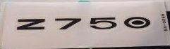 ADESIVO RABETA Z750 2009 a 12   56054-0269