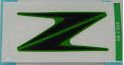 ADESIVO TANQUE COMBUSTIVEL Z1000 2010 a 2013 VERDE   56054-1104