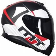 Capacete Moto Mt Thunder 3 Ray.